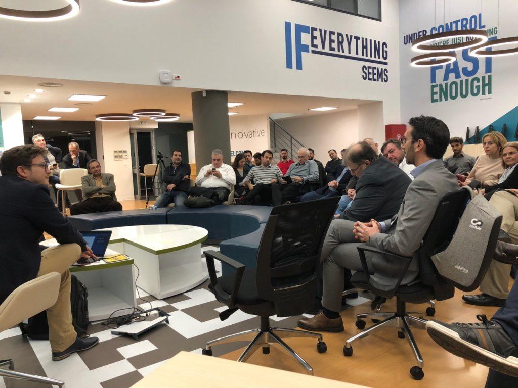 1η συνάντηση μελών και φίλων του Hellenic Blockchain Hub